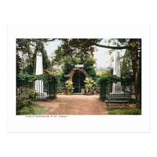 Tomb President George Washington  Mt. Vernon Postcard