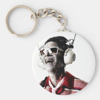 Too Loud, Too Old Series Basic Round Button Key Ring