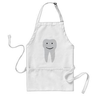 tooth dentist smile teeth standard apron
