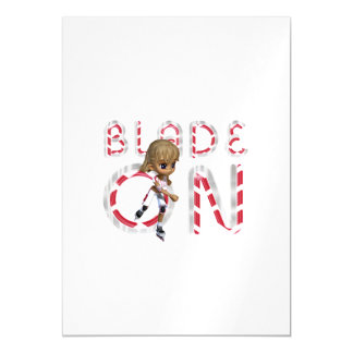 TOP Blade On Magnetic Invitations