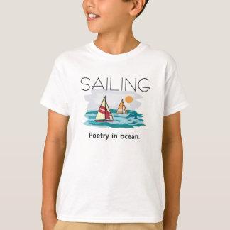 TOP Sailing, Poetry in Ocean T Shirts