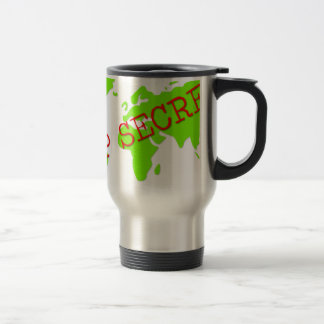 Top Secret Stainless Steel Travel Mug