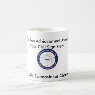 Top Ten Award - 2008 ARRL Sweepstakes Basic White Mug