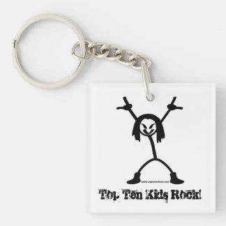 Top Ten Rocker Keychain
