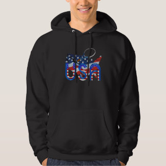 TOP Tennis in the USA Hooded Pullovers