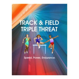 TOP Track Triple 21.5 Cm X 28 Cm Flyer