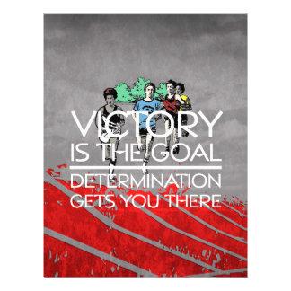 TOP Track Victory Slogan 21.5 Cm X 28 Cm Flyer