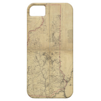 Topographical Map Province of New Hampshire (1784) Barely There iPhone 5 Case