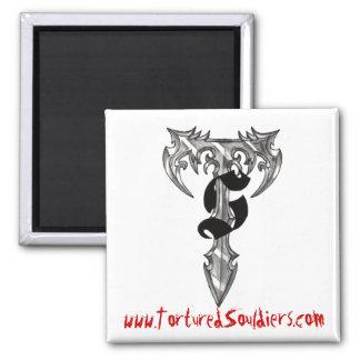 """Tortured Souldiers - """"Homepage"""" Magnet"""