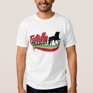 Totally Straight Unicorn Shirts