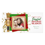 Toy Soldier Christmas Photo Template Cards Photo Greeting Card