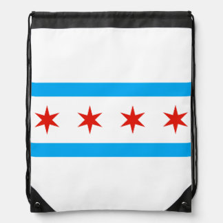Traditional Chicago flag Rucksacks