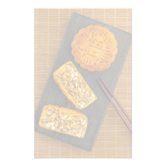 Traditional Chinese mixed nut moon cake Stationery Paper