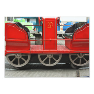Train Carriage Invitation