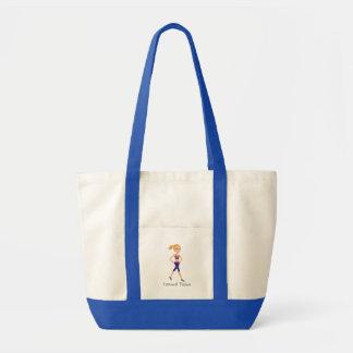Trainer Girl Tote in Blonde Impulse Tote Bag