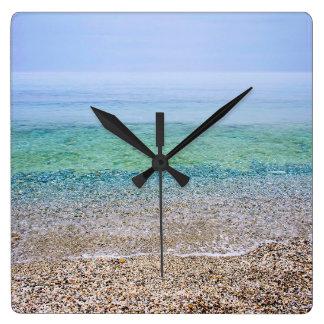 Tranquil Beach Clocks