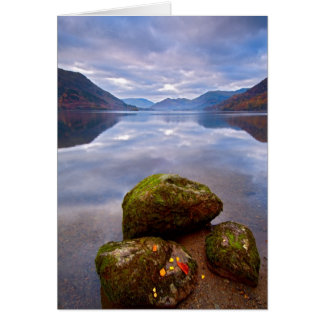 Tranquil morning, Ullswater, The Lake District Greeting Card