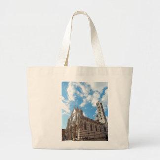 Travel Canvas Tote with Duomo di Siena Jumbo Tote Bag