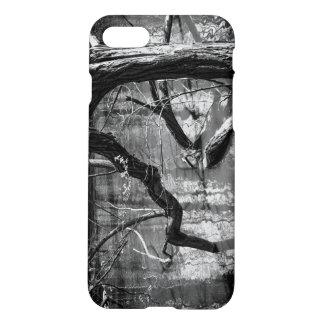 Tree In Water, Dark Horror Photograph, Woods iPhone 7 Case