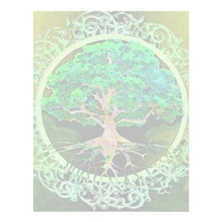 Tree of Life Health and Prosperity 21.5 Cm X 28 Cm Flyer