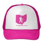 TrekOhio Trucker Hat, Hot Pink Cap