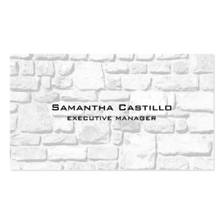 Trendy Modern Elegant Wall Stones Pack Of Standard Business Cards