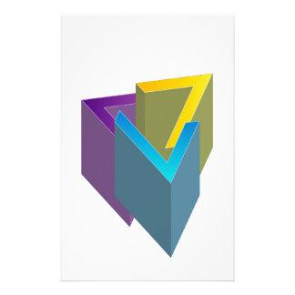 Triangle magic customised stationery
