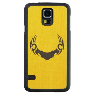 Tribal Bull Maple Galaxy S5 Slim Case