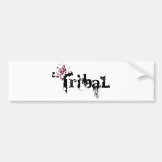 Tribal Bumper Sticker
