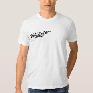 Tribal Whale Tattoo 2 Tshirts