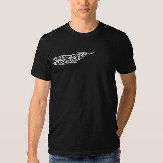 Tribal Whale Tattoo 4 Tshirts