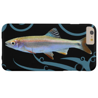 Tricolor Shiner with Stylized Waves Barely There iPhone 6 Plus Case