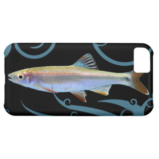 Tricolor Shiner with Stylized Waves iPhone 5C Case