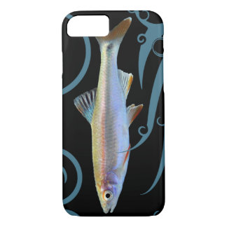 Tricolor Shiner with Stylized Waves iPhone 7 Case
