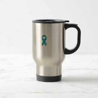 Trigeminal Neuralgia Awareness Stainless Steel Travel Mug