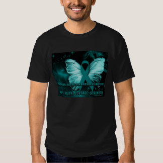Trigeminal Neuralgia Butterfly Ribbon Shirt