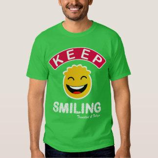 Trinidad and Tobago Keep Smiling Smiley Shirt
