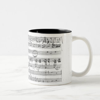 Trio, in E flat major 'Kegelstatt' Two-Tone Mug