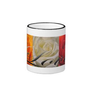 Trio of Roses Love Ringer Mug