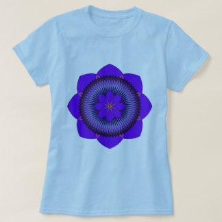 Tripartite 80 Petal Purple Lotus T Shirts