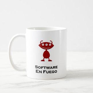 Triple Eye Software En Fuego red Basic White Mug