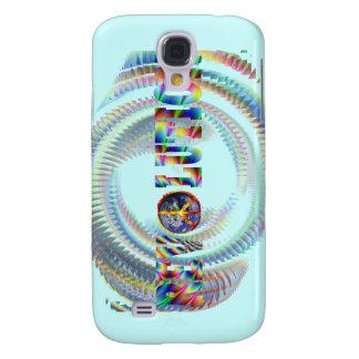 Trippy Spiral Revolution Galaxy S4 Case