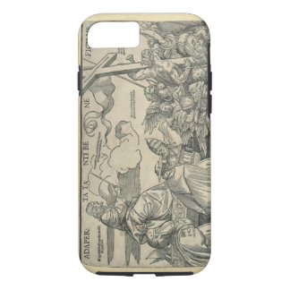 Triumph of Christ (wood engraving) iPhone 7 Case