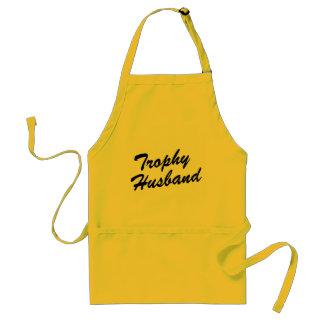 Trophy Husband | Funny BBQ apron for men