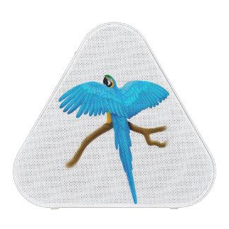 Tropical Blue Gold Macaw Parrot Pieladium Speaker