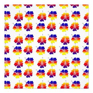 Tropical Flowers Photo Print