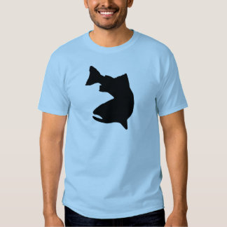 TROUT FISHING VECTOR GRAPHIC TEES