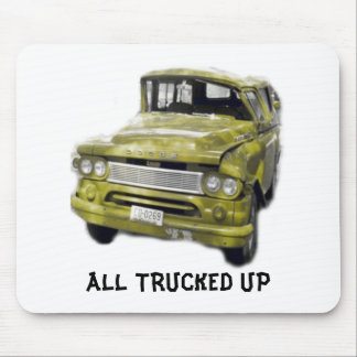 Trucked Up Mousepad