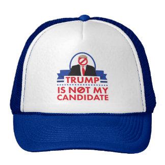 Trump Not My Candidate Trucker Hat