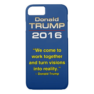 TRUMP TURN VISIONS iPhone 7 CASE